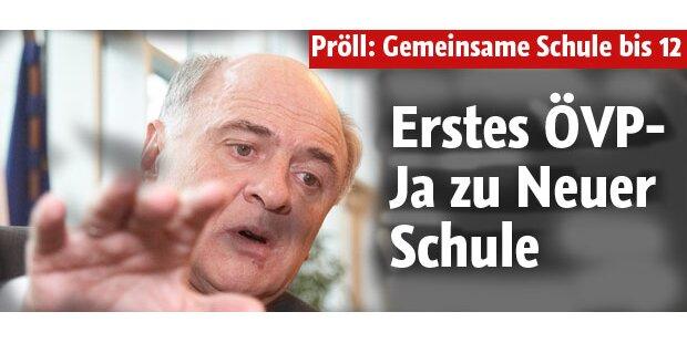 Erstes ÖVP-Ja zu Neuer Schule