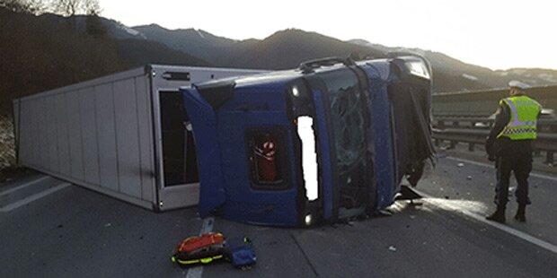 Horror-Crash auf der S6 fordert einen Toten