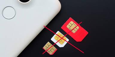 """""""3"""" mit nächstem Schritt zum Ende der SIM-Karte"""