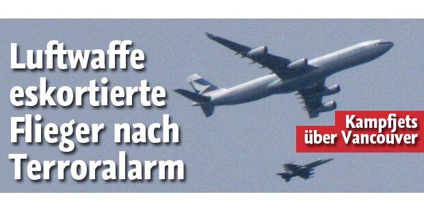 Luftwaffen-Eskorte nach Bombenalarm