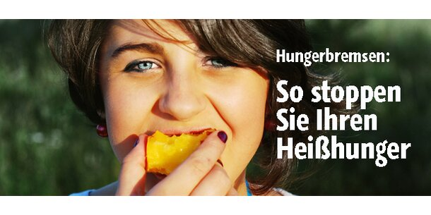 So stoppen Sie Ihren Heißhunger
