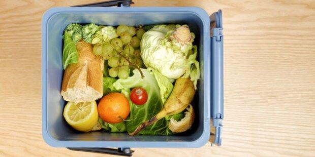 Kampf gegen Lebensmittel im Müll