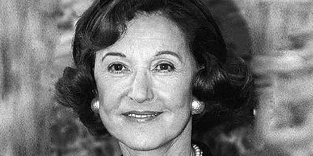 Fürsten-Witwe Esterhazy gestorben