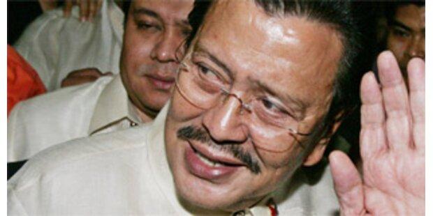 Lebenslang für philippinischen Ex-Präsident