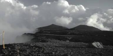 Sizilien: Etna im Zeitraffer-Video