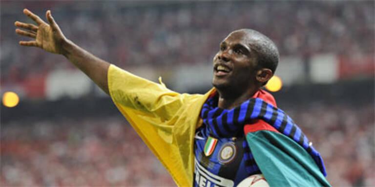 Samuel Eto'o Afrikas Spieler des Jahres