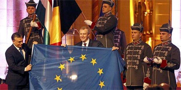 Belgien übergab EU-Präsidentschaft an Ungarn