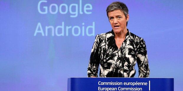 Google will mit EU zusammenarbeiten