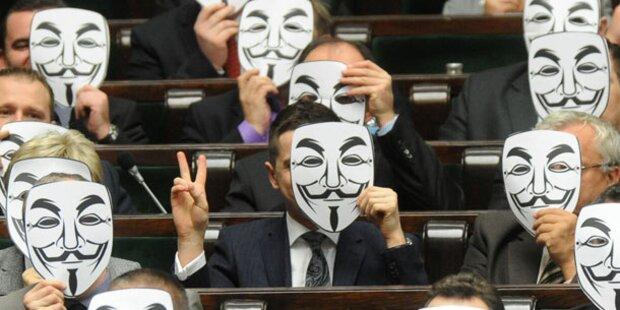 EU unterzeichnet umstrittenes ACTA