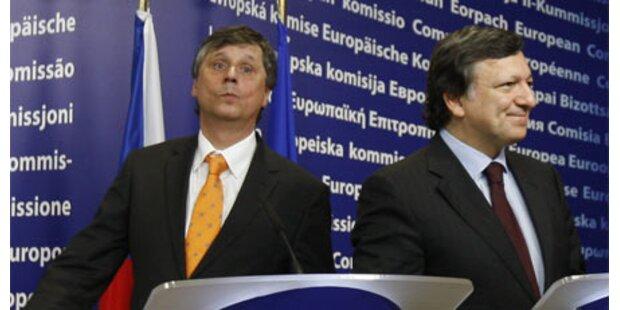 EU verstärkt Druck auf Prag