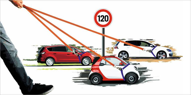 EU plant eingebaute Tempobegrenzung für alle Autos