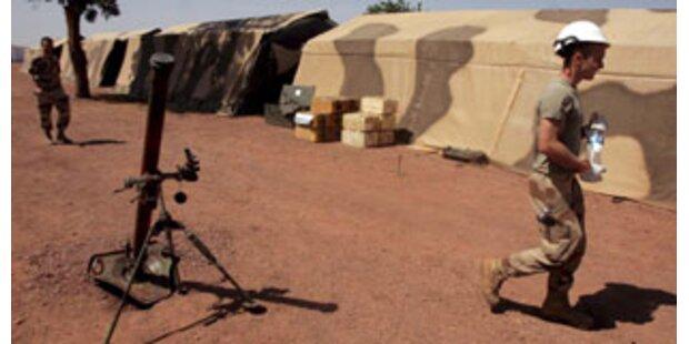 EUFOR-Truppenentsendung in den Tschad geht weiter