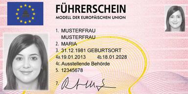 Neue EU-Führerscheine