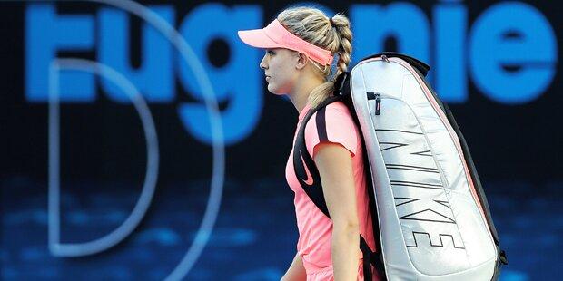 Riesen-Wirbel um Tennis-Beauty