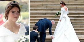 Eugenies Hochzeitskleid: Ein Traum in Weiß