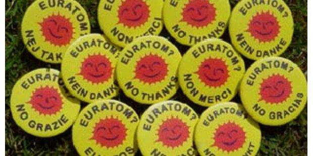 Fast 80% wollen aus Euratom aussteigen