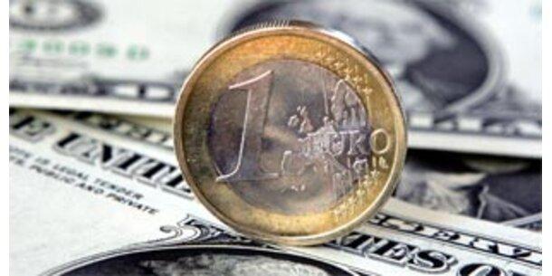 Euro erstmals über 1,60 Dollar