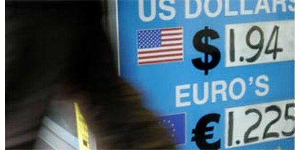 Euro setzt Höhenflug fort