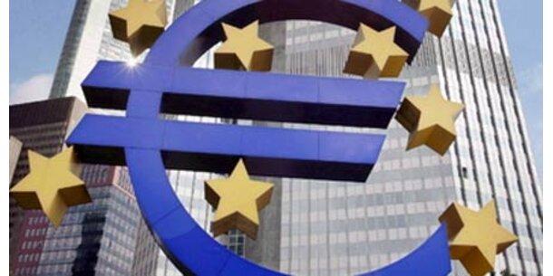 Euro klettert auf Höchststand