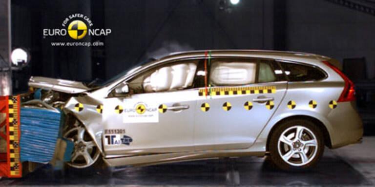 NCAP-Crashtest: 5 Sterne für alle Kandidaten