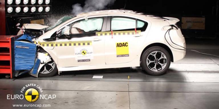 10 Autos im aktuellen Euro NCAP-Crashtest