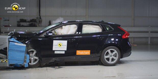 NCAP-Crashtest: 5 von 6 Pkw mit Bestnote