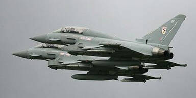 Eurofighter fangen russische Bomber ab
