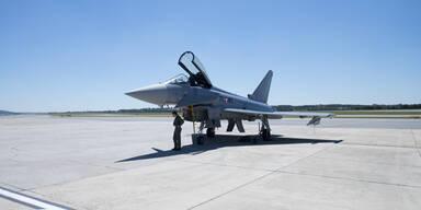 Eurofighter: Mega-Training für Überschall