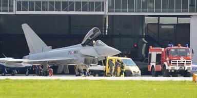 Eurofighter musste notlanden