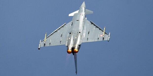 Vor Comeback der Eurofighter