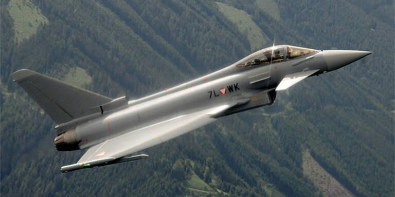 Lärm-Alarm: Eurofighter fliegen heute Überschall
