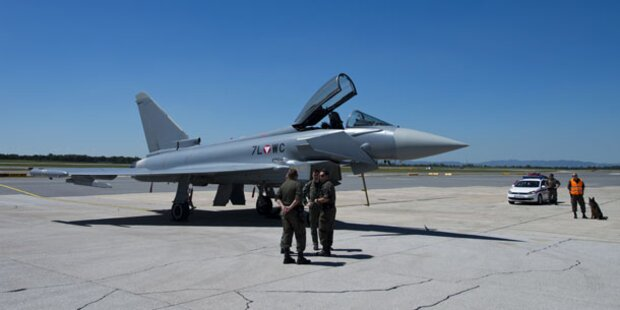 Sechs Eurofighter- Piloten weniger