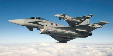 Eurofighter: SPÖ fordert Ausstieg aus Vertrag