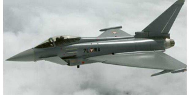 Eurofighter-Piloten ohne Schusstraining