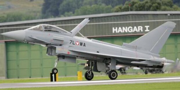 Eurofighter-Ballonjagd hat Folgen