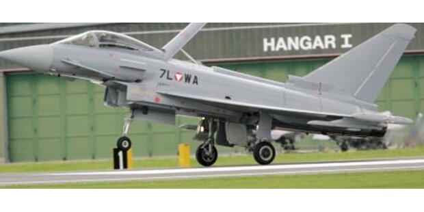Heer trainiert Überschallflüge mit Eurofightern