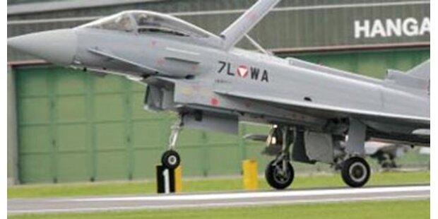 Letzter Eurofighter gelandet