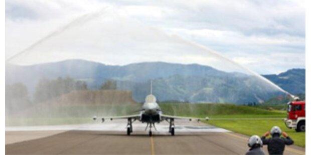 Zweiter Eurofighter ist gelandet