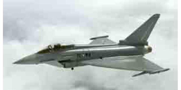 England und Italien wollen weniger Eurofighter
