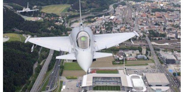 Eurofighter-Radmutter kostet 30.000 Euro