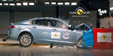 EuroNCAP-Crashtest: 14 Autos geschrottet