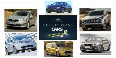 Die sichersten Autos des Jahres 2013