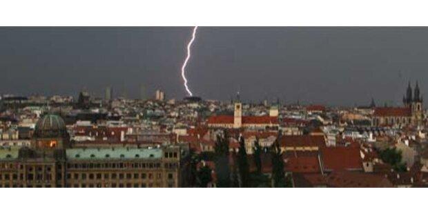 Schwere Unwetter suchen Europa heim