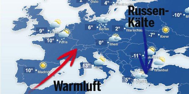 So verrückt ist das Europa-Wetter