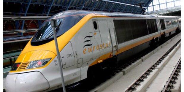 Kälteschock stoppt Eurostar-Züge