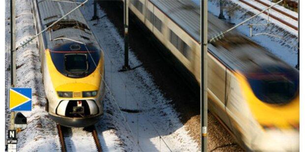 Eurostar steckt unter Ärmelkanal fest