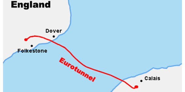 Eurotunnel 2007 erstmals mit Gewinn