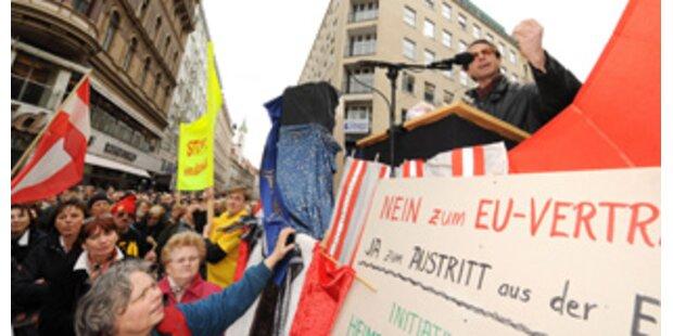 Mehrheit will Abstimmung über EU-Vertrag
