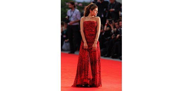 Eva Mendes ist Venedigs Stylequeen
