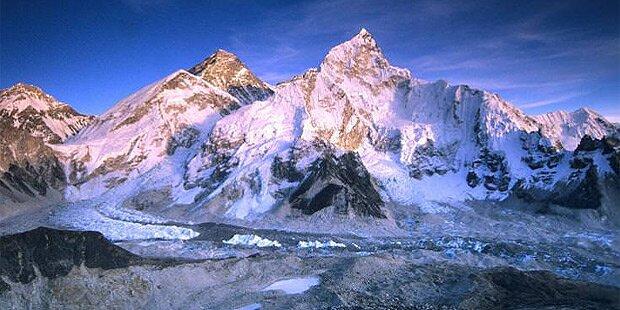 Österreicher stirbt nahe Mount Everest